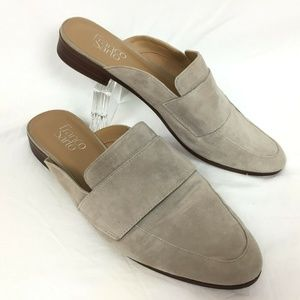 Franco Sarto 10 Loafers Tan Suede Leather